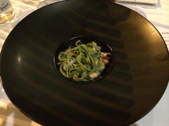 Restaurante La Salita: Tallarines de plancton