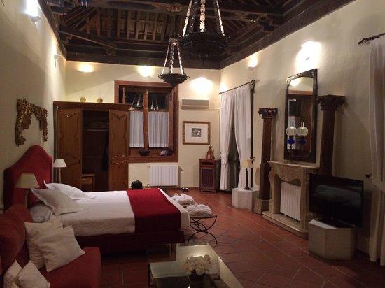 Palacio de Santa Ines : Habitación