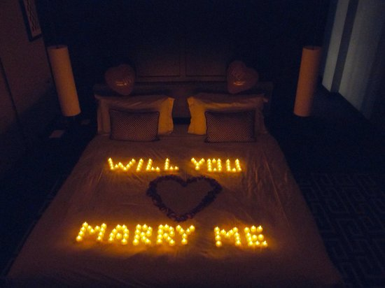 The Fitzwilliam Hotel Belfast: And she said yes :)