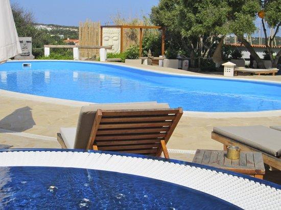 La Masía de Formentera: Piscina
