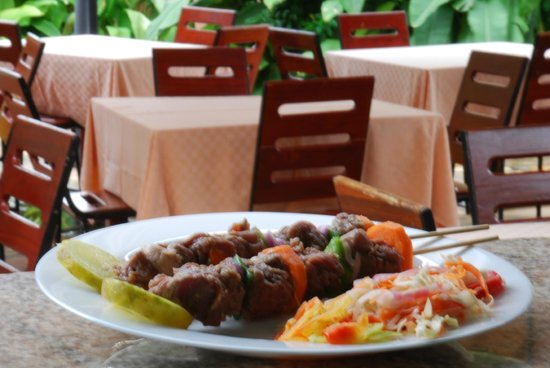 The Grand Villa Hotel: Delicious Swahili food
