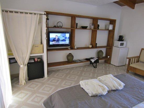 La Masía de Formentera: Habitación