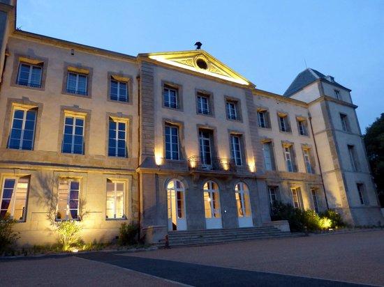 Chateau de la Redorte : Le Château de la Redorte de nuit.