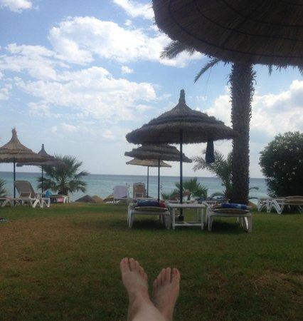Palm Beach Club Hammamet: beach area