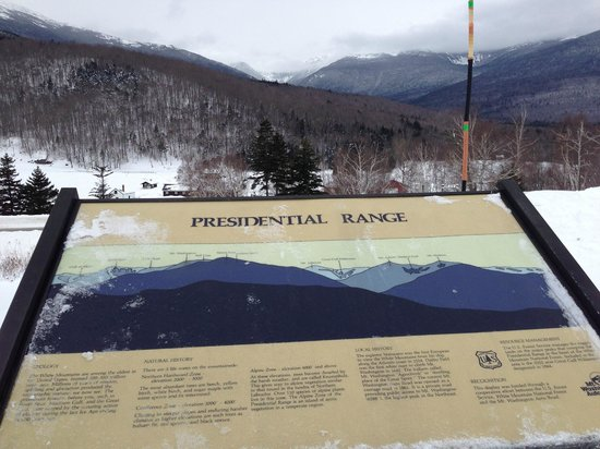 Great Glen Trails Outdoor Center: mountain identification