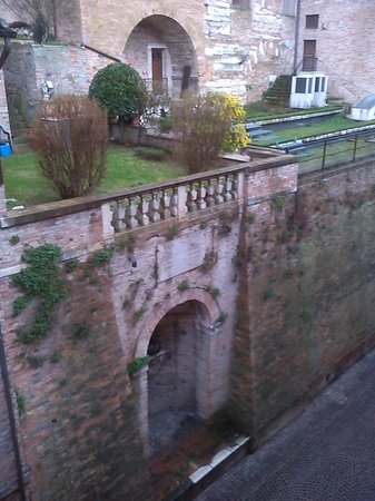 Albergo Italia: Nice view of the roof gardens