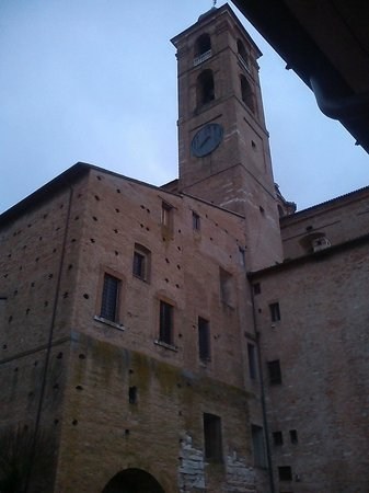 Albergo Italia: View of the clock
