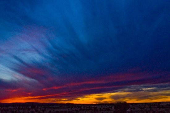 Red Centre, Australia: glorious sunset 2