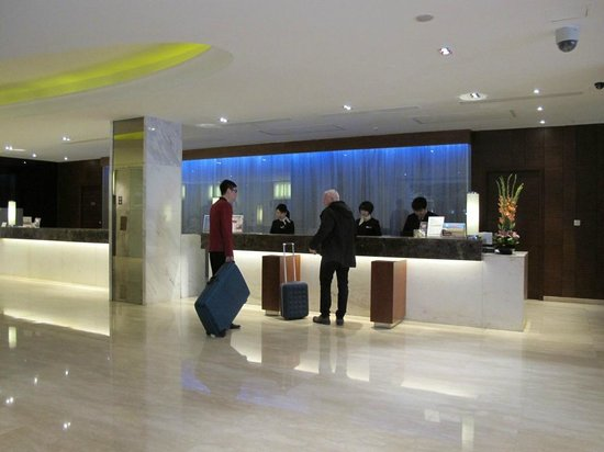 Crowne Plaza Beijing Wangfujing : reception lobby