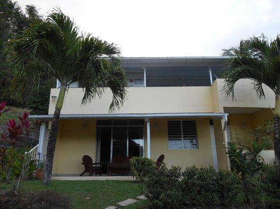 Habitation Grande Anse: batiment de trois appartements