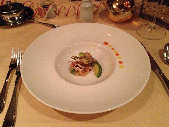 Kaiserhof: Garnelen mit Avocado