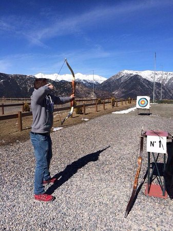 Naturlandia: Cota 1600/ tiro con arco