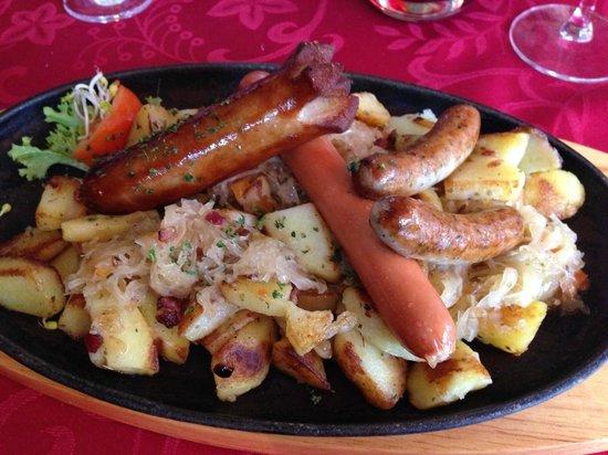 Restaurant Schlossgarten: simple mais délicieux
