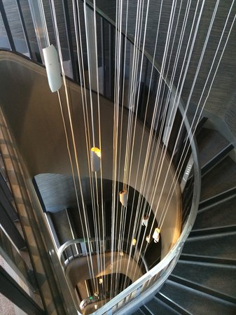 Hotel Villa Saxe Eiffel: Villa Saxe Eiffel Paris - Escalier