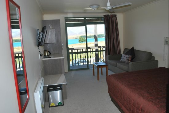 Lake Tekapo Village Motel: Cozy room