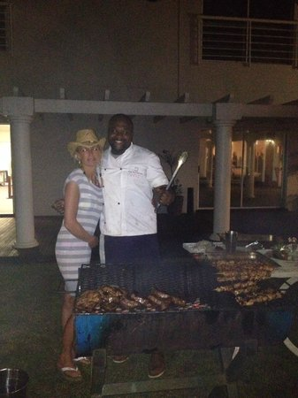 "The Boathouse: Braai met chef ""Shaka"""