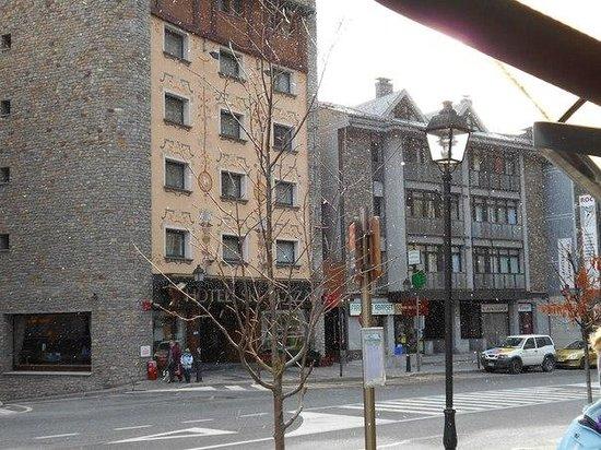 Hotel Ski Plaza: Вид на отель