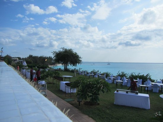Hideaway of Nungwi Resort & Spa: gala night on Friday…just amazing