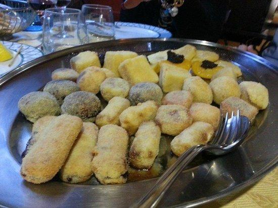 fritto pesce e rane - foto di la cucina piemontese, vigone ... - Cucina Piemontese Vigone