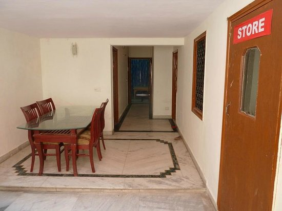 Sonar Haveli : breakfast area