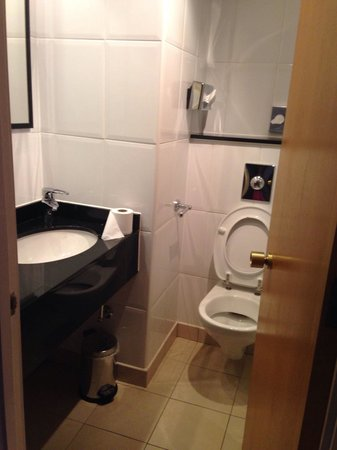 Hilton York: Small bathroom but did the job.
