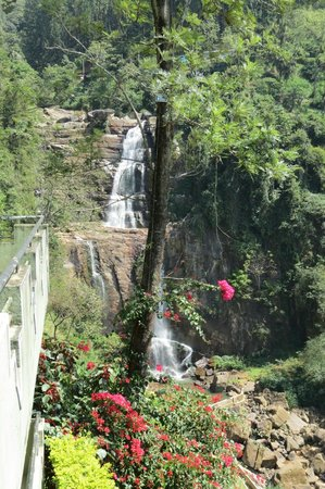 Ramboda Falls Hotel: view from our balcony