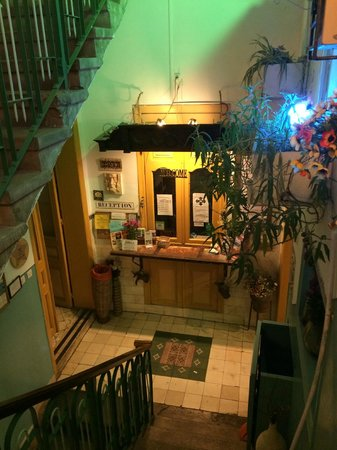 Old Jaffa Hostel: Rezeption