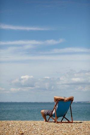 Bunn Leisure Holiday Park: Our beautiful beach