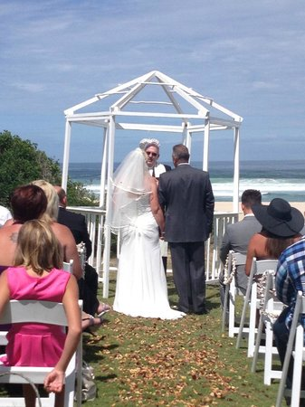 Cape St Francis Resort: Our Wedding Day
