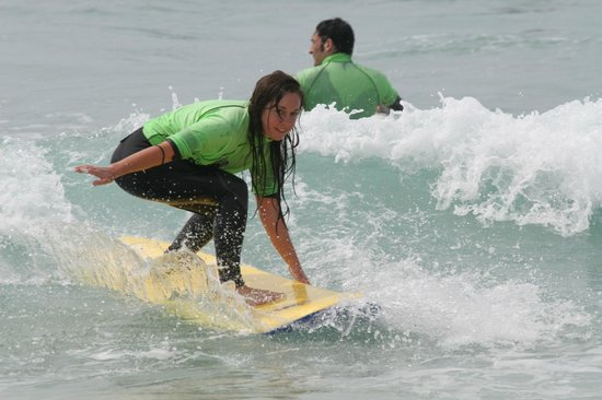 The Escape Surf School: Improver lessons catered for