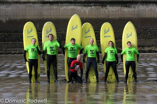 The Escape Surf School: Stag, Hen Parties and large group discounts available
