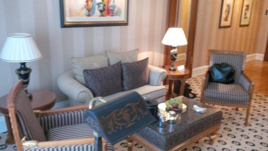 The Ritz-Carlton, Berlin: Wohnbereich Bellevue-Suite