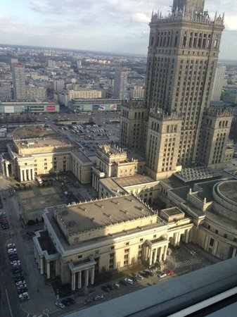 InterContinental Hotel Warsaw: View from 3208