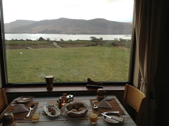 Currane Lodge: View from breakfast