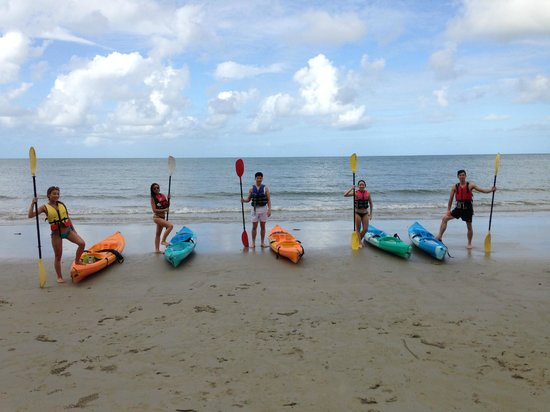 Paddletrek Kayak Adventures: kayaking separately much funner than kayaking in twos