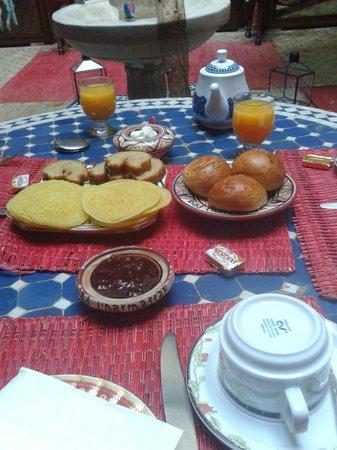 Riad Harmattan : colazione