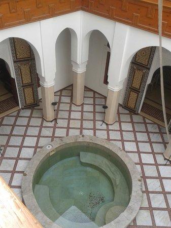 Riad Harmattan : cortile interno