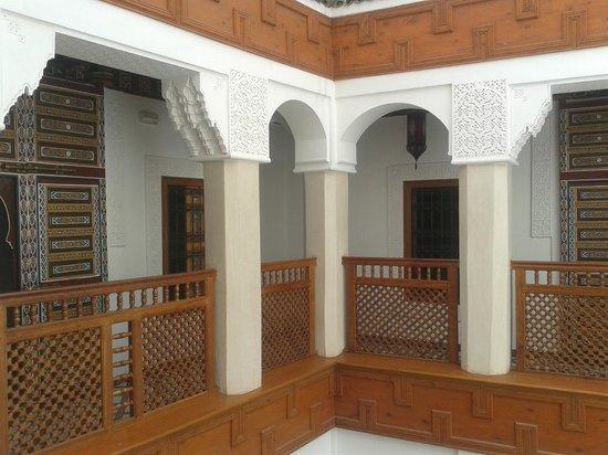Riad Harmattan : parete esterna camera