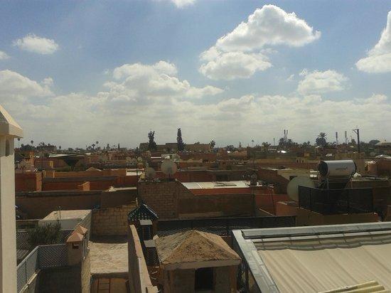 Riad Harmattan : terrazza