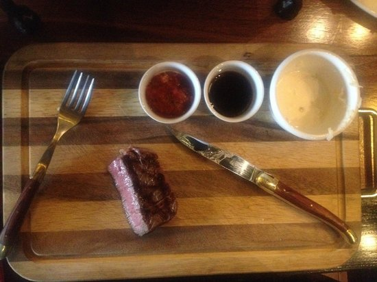 T-Bone Wine: Wooden plates - big like!