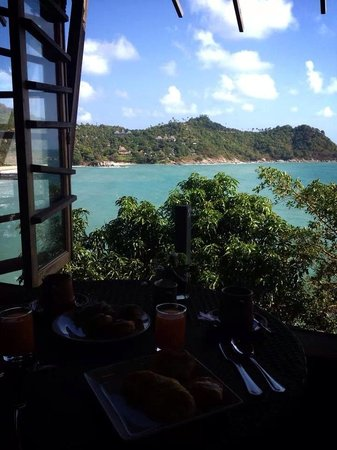 Panviman Resort - Koh Pha Ngan: Beautiful view at breakfast