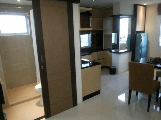 Nagoya Mansion Hotel & Residence : Living Hall