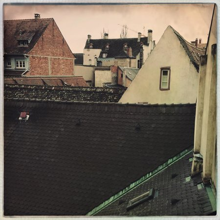 Hotel Patricia: Rooftops of Strasbourg