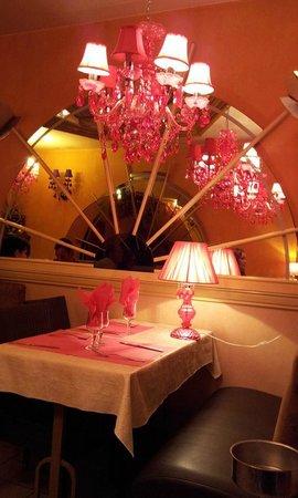 intérieur La Louisiane restaurant