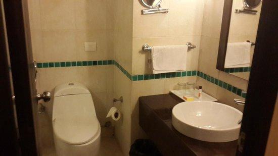 Club Mahindra Kanatal: The HU bathroom