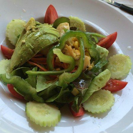 cafe del sol: Vegetarian Salad