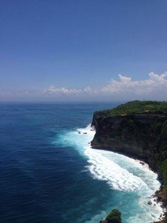 Pura Ulun Siwi : Прекрасный вид на океан!!!