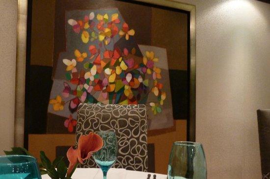tasteful decor at La Locanda