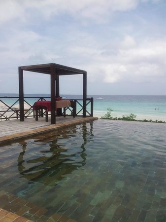 The Z Hotel Zanzibar : View from swimming pool