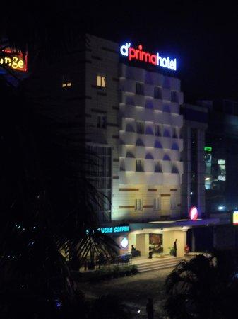 d'primahotel WTC Mangga Dua : The hotel from afar